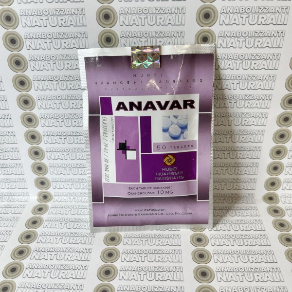 Anavar (Oxandrolone) 10 mg Hubei Huangshi Nanshang