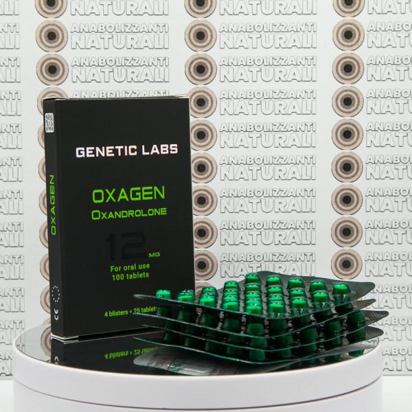 Oxagen 12 mg Genetic Labs